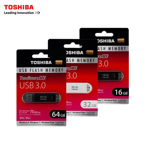 Promo Flashdisk Toshiba 64gb Flash Disk Usb Flash Memory Terjamin toshiba usb 3 0 pen drive usb flash drive 64gb 32gb 16gb