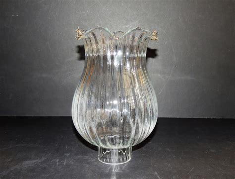 ladari vetro soffiato paralumi in vetro vetri di ricambio per ladari giglio