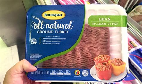butterball  lean ground turkey    shoprite living rich  coupons
