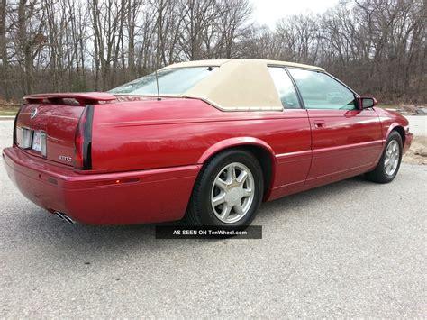 2001 Cadillac Eldorado by 2001 Cadillac Eldorado Etc