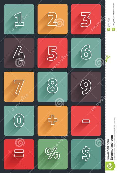 calculator numbers calculator numbers stock image image 34958651
