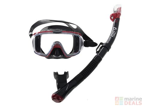 tusa visio tri ex mask buy tusa sport visio tri ex mask and snorkel set