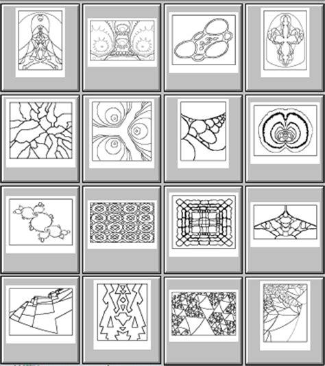 coloring book zip file fractal coloring book