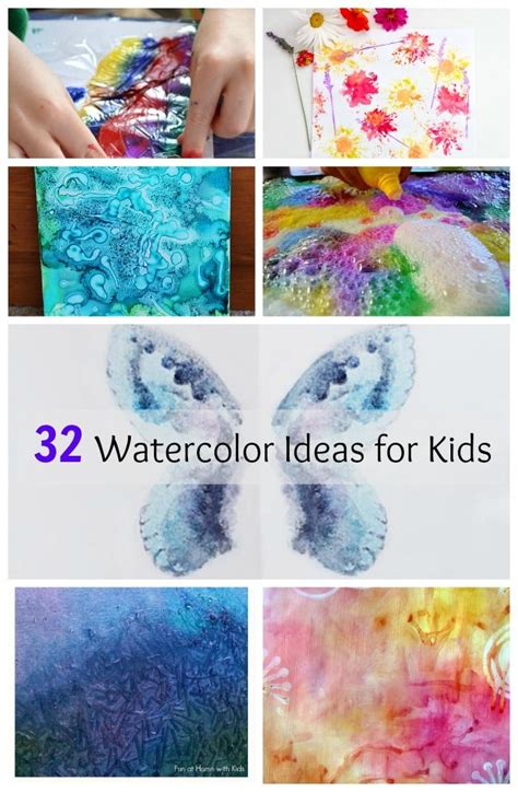 water color ideas 32 easy watercolor painting ideas with children