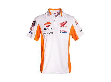Kaos Polo Honda Racing Team repsol team replica polo shirt teams repsol honda team