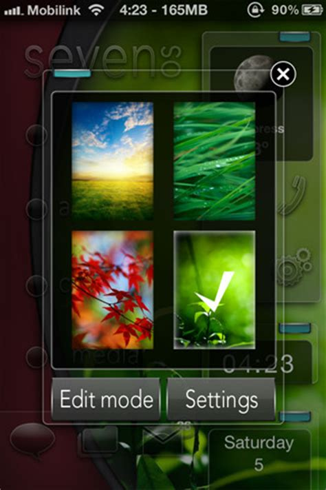 themes htc hd2 5 stunning free dreamboard themes for ios 5