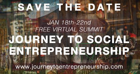 Social Entrepreneurship Mba by Journey To Social Entrepreneurship