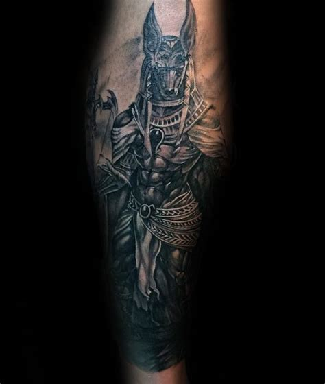 tattoo designs for male legs trends 100 anubis designs for