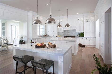 two island kitchen kitchen with 2 islands design transitional kitchen