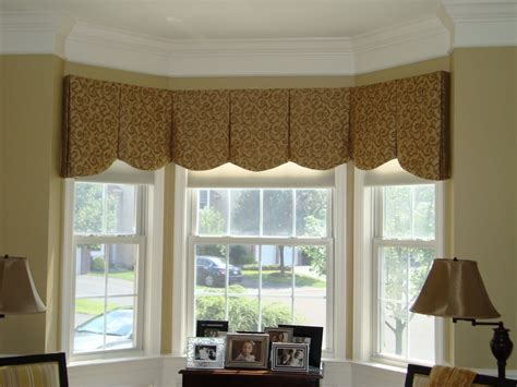 valances for living room bay window unique decorating