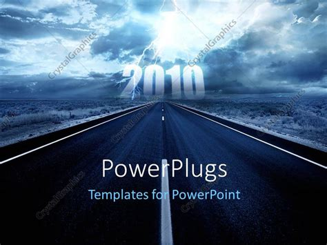 powerpoint templates for new year 2016 powerpoint template the representation of the new year