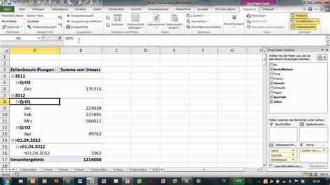 tutorial excel pivot excel pivot tutorial 6 gruppierung von zahlen und