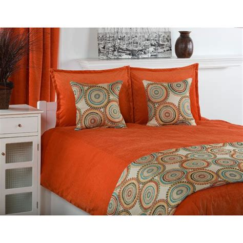 orange queen comforter set pinterest discover and save creative ideas