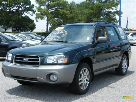 green subaru subaru forester review and photos
