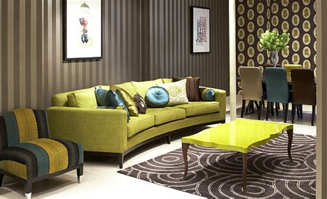new home decoration america with green wallpaper fashion and style home decoration and interior designing