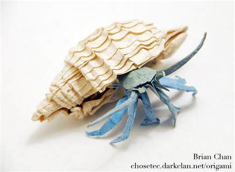 Origami Crab - beautiful exles of origami paper hongkiat