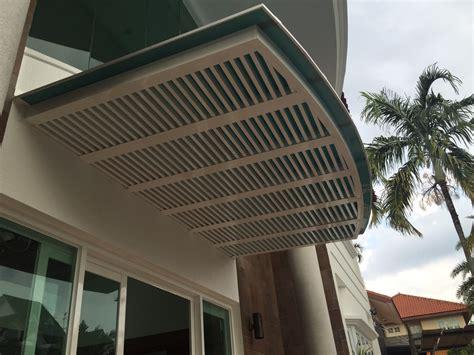 Canopy Trellis arch shape aluminium polycarbonate canopy with aluminium trellis and glass doors spacedor