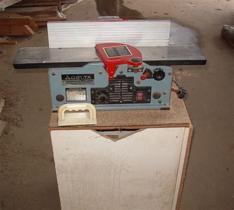 delta 6 variable speed bench jointer xs items used delta 6 quot bench jointer
