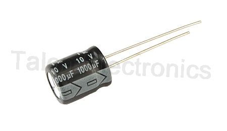10v 1000uf capacitor maplin 1000uf 10v radial electrolytic capacitor