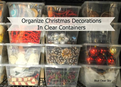 rustic maple organizing christmas decorations