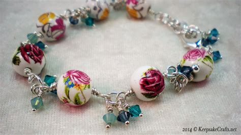 how to make beaded flower bracelets designs crafts