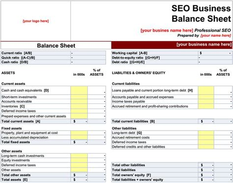 business balance sheet template excel 651 best excel project management templates for business