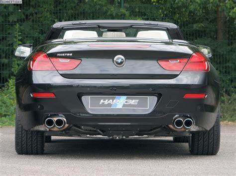Bmw 1er Cabrio Facelift Ab Wann by Hartge Stellt Programm F 252 R Das Bmw 6er Cabrio F12 Vor