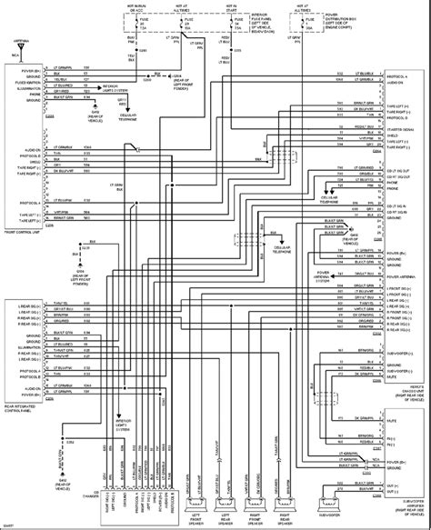 2002 ford excursion stereo wiring diagram wiring diagrams