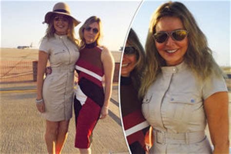 carol vorderman wardrobe malfunctions gigi showed off some serious cleavage in a dazzling dress