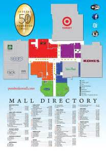 mall of directory map stores directory pembroke mall