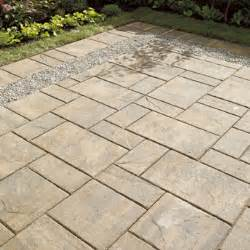 Laying Patio Slabs On Concrete by Slab Quot Diamond Quot Patio Slab Rona
