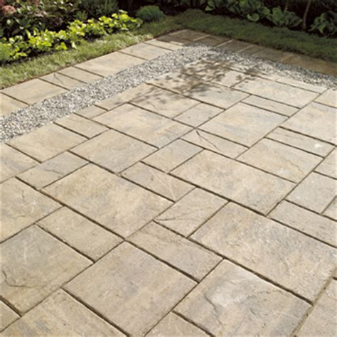 create a paved area with concrete pavers or slabs 1 rona