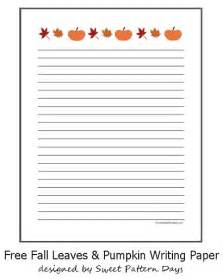 fall writing template printable fall themed writing paper writing paper