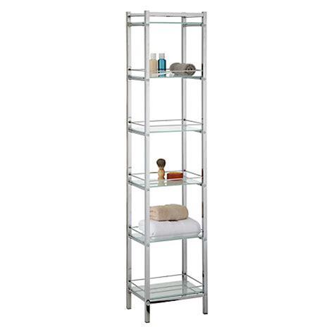 john lewis bathroom shelves buy john lewis ice 6 tier shelf unit john lewis