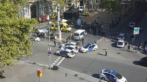 barcelona attack barcelona attack witness saw people flying into the air