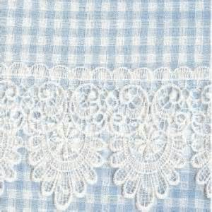 Blue Gingham Kitchen Curtains The Gingham Curtain 187 Blue Kitchen Curtains