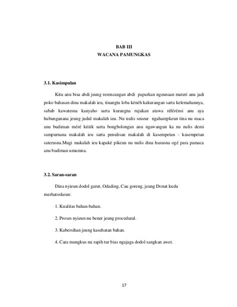format makalah bahasa sunda makalah bahasa sunda
