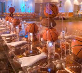 basketball bar mitzvah basketball theme party ideas