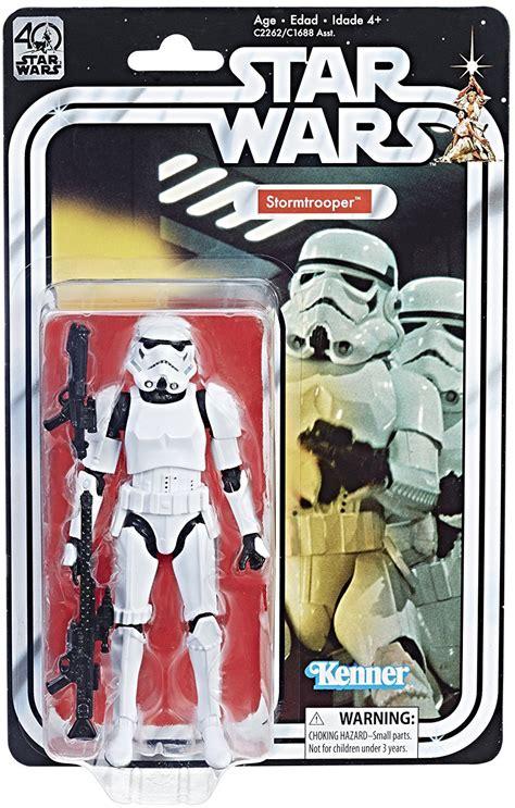 wars anniversary stormtrooper wars 40th anniversary figure wave 2 at cmdstore ca