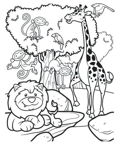 safari coloring pages free coloring pages safari safari coloring pictures