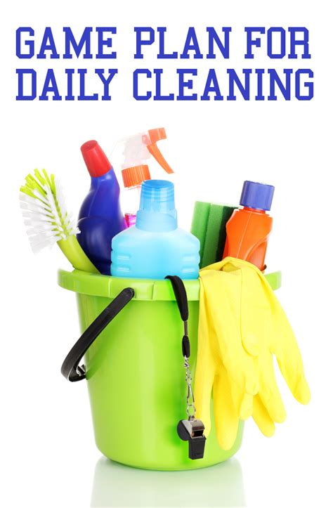 cleaning blogs a game plan for daily cleaning the maids blog