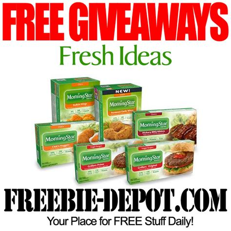 Free Giveaway Ideas - free fresh ideas panel giveaway freebie depot