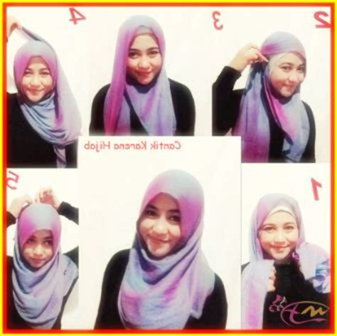 tutorial jilbab segi empat simple 17 best images about tutorial hijab on pinterest how to