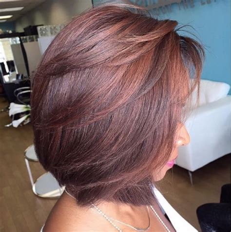 cute bob feathered hair styles cut to perfection by pekelariley black hair information