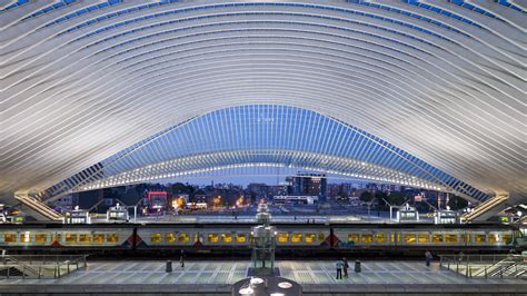 liege station gallery of elegance in motion at calatrava s li 232 ge