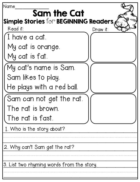 simple stories for beginning readers i the