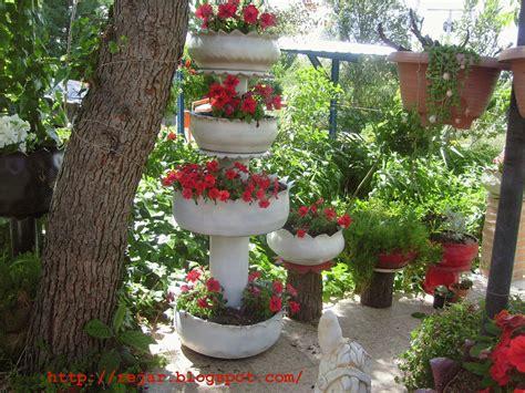 imagenes de jardines con neumaticos jard 237 n reciclaje y m 225 s fuente de ruedas en blanco