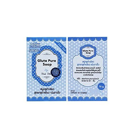 Gluta Wink Soap 5x70g gluta soap wink white whitening soap lightening