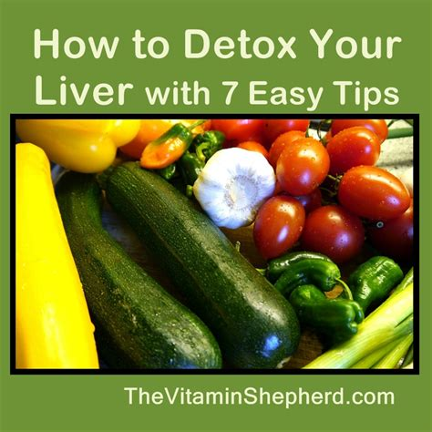 What Can I Do To Detox My Liver by How To Detox Your Liver With 7 Easy Tips The Vitamin