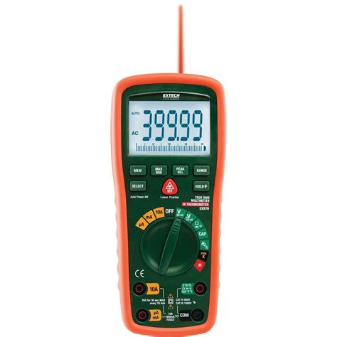 Termometer Electric klein tools manual ranging multimeter mm100 the home depot